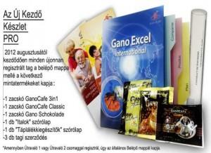 ganoexcel regisztrációs csomag